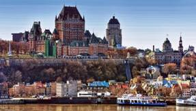 Quebec City from waterfront