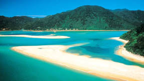 Awaroa inlet in Abel Tasman National Park