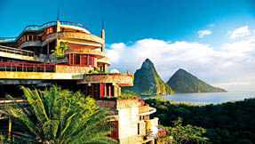 accommodation scenery jade mountain