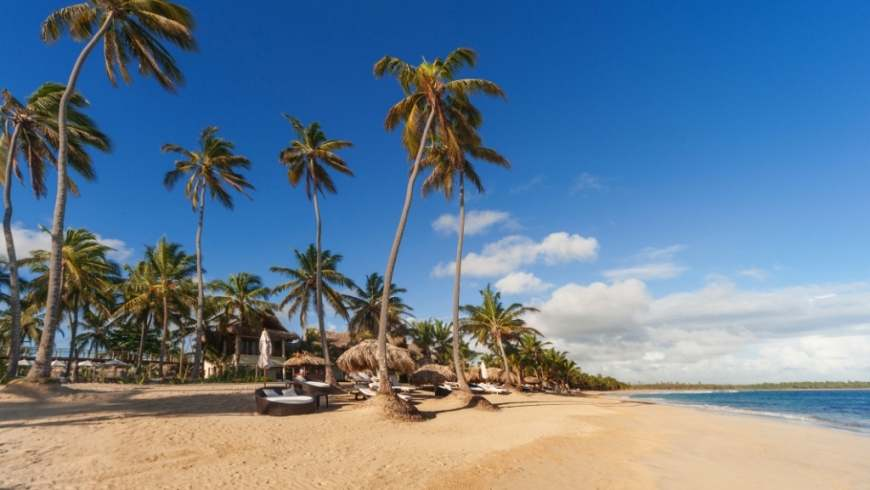 Beach scenery at Zoetry Agua Punta Cana